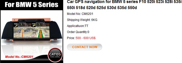 GPS navigation for BMW 5