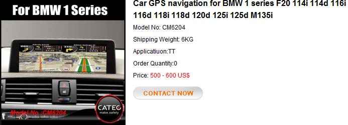 GPS navigation for BMW 1