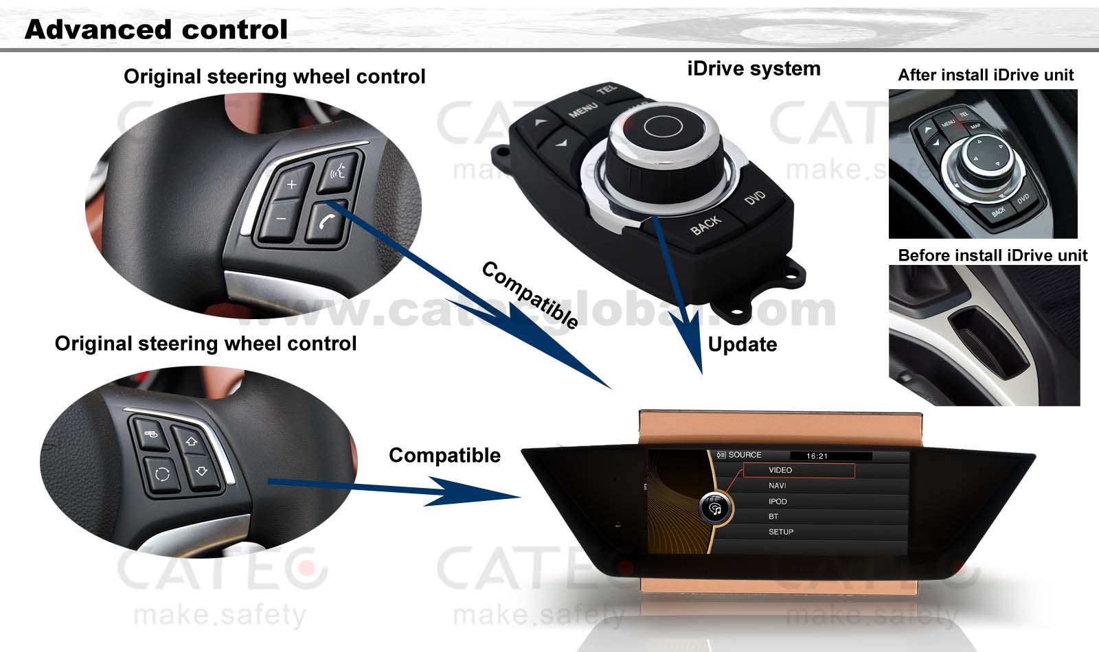 0c27e77b736e Buy Car GPS Navigation For BMW X1 Series E84 SDrive XDrive 18i 20i ...