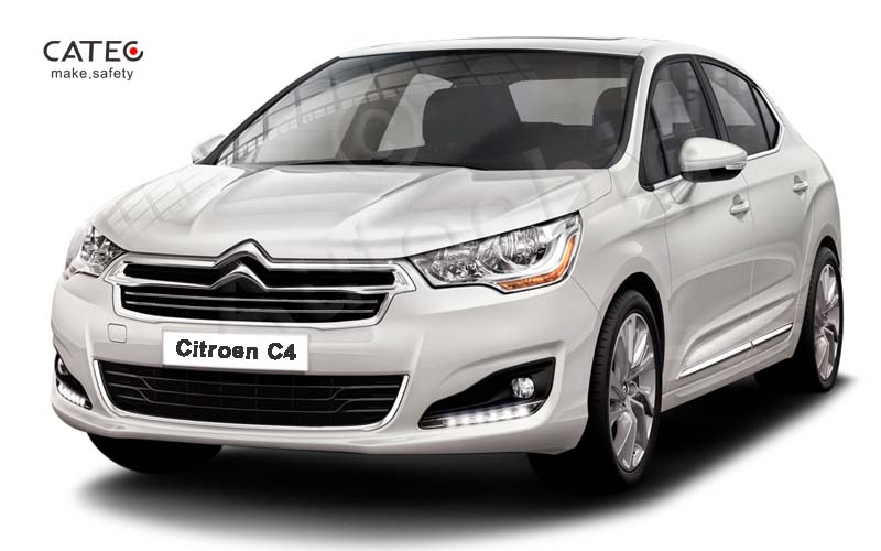 Citroen C4 with LED DRL