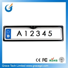 Vehicle License Plate Number Rearview Reversing Camera For European Market