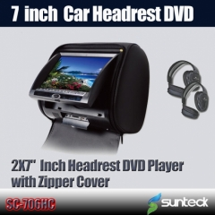 car monitor headrest dvd