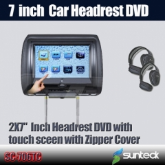 headrest dvd