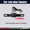 Mini car rear view Camera for parking assistance