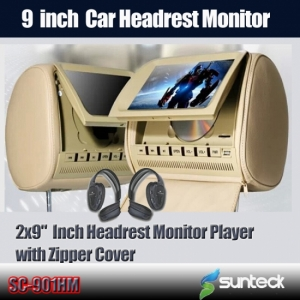 9headrest dvd