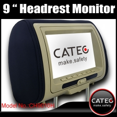 9 inch car headrest TV monitors / car seat back monitors with DVB-T ISDB-T ATSC-MH optional CH9010H