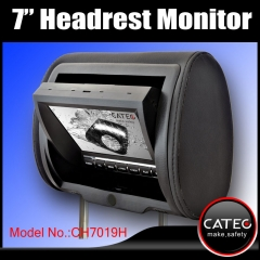 7 inch car headrest TV monitors / car backseat monitors for back seat entertainment system CH7019H