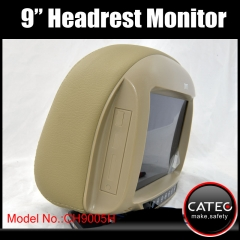 9 inch headrest monitors
