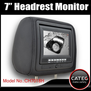 car headrest TV monitors