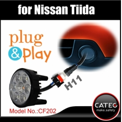 Nissan Tiida fog lights