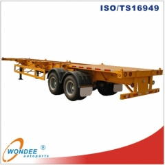 Tendem Axle 40 Feet Skeletal Semi Trailer