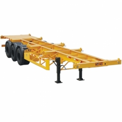 Factory Chassis Skeletal 40 Ton Semi Trailer