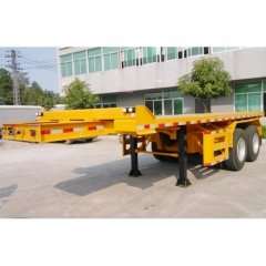 Flatbed Container 20ft Semi Trailer Manufacturers