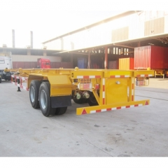 Container 40T 3 Axle Skeleton Trailer